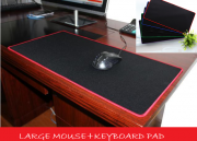 Extended Anti-slip Rubber Gaming Mouse Pad