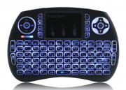 Rechargeable Backlit Wireless Keyboard with Touch