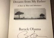 President B. Obama - Signed Book(authentic) - Dreams From My FATHER