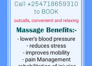 Treating stress, pain and injury +254718659310