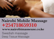 Outcall or mobile massage Nairobi +254718659310