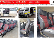Boss Customz: Matatu Seats in Nairobi