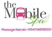 Mobile spa in Nairobi by Maureen +254718659310